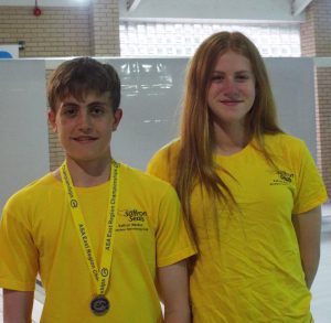 Ollie Rogers and Claire Stockton - East Region qualifiers 2016