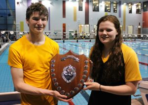 Will Brooker and Alice Rogers with ESL Division 3 trophy – Version 2